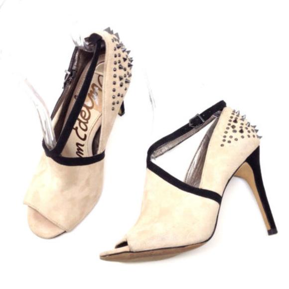 Sam Edelman Blush Pink Peep Toe Spikey Heels 8.5. M 5aa30ce5c9fcdf4e156c2396 95404c65ce